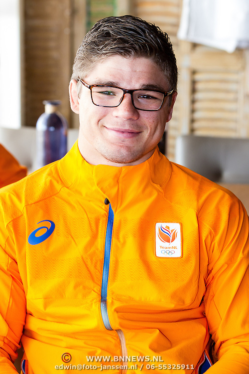 NLD/Scheveningen/20160713 - Perspresentatie judoka's voor de Olympische Spelen 2016 in Rio de Janeiro, Noël van 't End