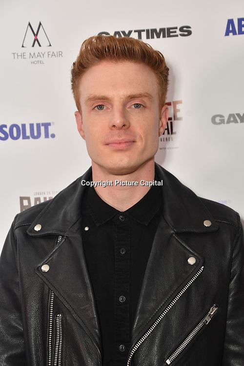 Lewis Corner attends Raindance Film Festival Gay Times Gala screening - George Michael: Freedom (The Director's Cut) London, UK. 4th October 2018.