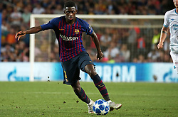 September 18, 2018 - Barcelona, Spain - Ousmane Dembele during the match between FC Barcelona and PSV Eindhoven, corresponding to the week 1 of the group stage of the UEFA Champions Leage, played at the Camp Nou Stadium, on 18th September, 2018, in Barcelona, Spain. (Credit Image: © Urbanandsport/NurPhoto/ZUMA Press)