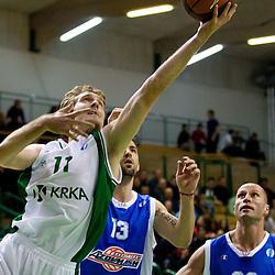 20111206: SLO, Basketball - Eurocup, KK Krka vs BC Azovmash Mariupol (UKR)