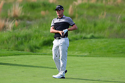 May 16, 2019 - Farmingdale, NY, U.S. - FARMINGDALE, NY - MAY 16:  Emiliano Grillo of Argentina plays from the 18th fairway during the first round of the 2019 PGA Championship at the Bethpage Black course on May 16, 2019 in Farmingdale, New York. (Photo by Rich Graessle/Icon Sportswire) (Credit Image: © Rich Graessle/Icon SMI via ZUMA Press)