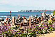 Scenic View of Dana Point From the San Clemente Beach Trail