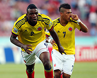 Fotball 22. juni 2013 , U20 VM<br /> Colombia - Australia<br />  U20 World Cup Group C Match between Colombia and Australia AT The Avni Aker Stage Jhon Andres Cordoba of Colombia <br /> <br /> Norway only