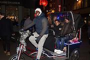 Pedicab near Bond st. . . London. 16 January 2016