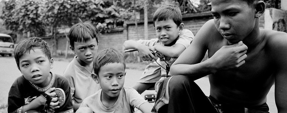 Boys in the Hood, Bali, Indonesia, April 2000