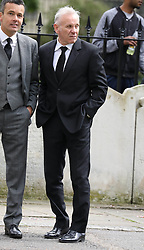 Peter Reid attends a memorial service today held at St Luke's Church in Chelsea for former footballer Ray Wilkins.<br /> <br /> 1 May 2018.<br /> <br /> Please byline: Vantagenews.com