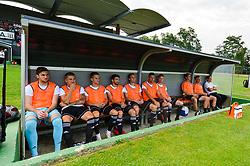 Substitutes bench of NS Mura prior football match between NS Mura and NK Domzale in 3rd Round of Prva liga Telekom Slovenije 2018/19, on Avgust 05, 2018 in Mestni stadion Fazanerija, Murska Sobota, Slovenia. Photo by Mario Horvat / Sportida