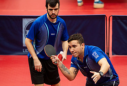 PEREIRA STROH Israel and SALMIN FILHO Paulo Sergio (BRA) during Team events at Day 4 of 16th Slovenia Open - Thermana Lasko 2019 Table Tennis for the Disabled, on May 11, 2019, in Dvorana Tri Lilije, Lasko, Slovenia. Photo by Vid Ponikvar / Sportida