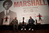HANDOUT: Open Road Films Baltimore screening of MARSHALL with cast.