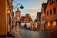 Rothenburg ob der Tauber, Germany is one of the most beautiful small towns in all of Europe