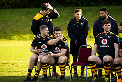 Jack Willis and Ben Harris of Wasps - Mandatory by-line: Robbie Stephenson/JMP - 18/11/2019 - RUGBY - Broadstreet Rugby Football Club - Coventry , Warwickshire - Wasps Squad Photo