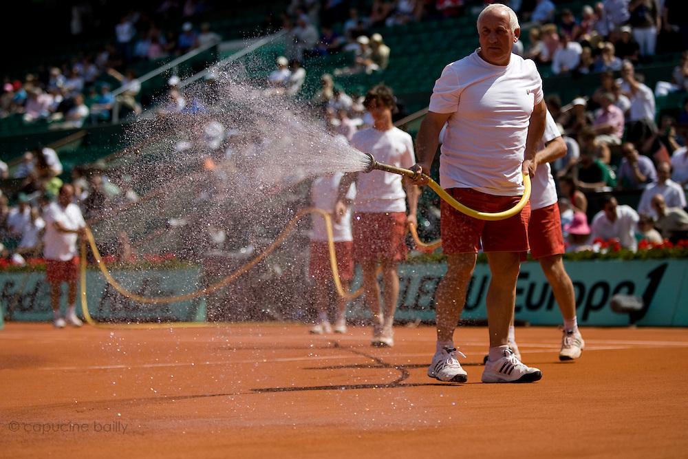 Paris, France. June 1st 2009. .Roland Garros - Tennis French Open. .