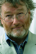 Prolific Scottish novelist Iain Banks, pictured at the Edinburgh International Book Festival where he discussed his many bestselling books. The Book Festival is the world's biggest literary festival with appearances by over 500 authors from across the world..