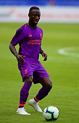 BIRKENHEAD, ENGLAND - Tuesday, July 10, 2018: Liverpool's new signing Naby Keita during a preseason friendly match between Tranmere Rovers FC and Liverpool FC at Prenton Park. (Pic by Paul Greenwood/Propaganda)