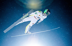 22.02.2016, Puijo, Kuopio, FIN, FIS Weltcup Ski Sprung, Kuopio, Teamspringen, im Bild Peter Prevc (SLO) // Peter Prevc of Slovenia during Mens Teamevent of Kuopio FIS Skijumping World Cup at the Puijo in Kuopio, Finland on 2016/02/22. EXPA Pictures © 2016, PhotoCredit: EXPA/ Tadeusz Mieczynski