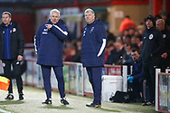 Glynn Hodges First Team Manager of Wimbledon during the EFL Sky Bet League 1 match between Accrington Stanley and AFC Wimbledon at the Fraser Eagle Stadium, Accrington, England on 1 February 2020.