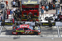 November 12, 2017 - Avondale, Arizona, United States of America - November 12, 2017 - Avondale, Arizona, USA: Erik Jones (77) comes down pit road for service during the Can-Am 500(k) at Phoenix Raceway in Avondale, Arizona. (Credit Image: © Justin R. Noe Asp Inc/ASP via ZUMA Wire)