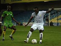 Photo: Tony Oudot.<br /> Ghana v Senegal. International Friendly. 21/08/2007.<br /> Michael Essien of Ghana