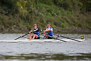 Crew: 64 - Turnock / Hills - Sons of the Thames Rowing Club - W 2x Club <br /> <br /> Pairs Head 2020