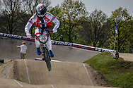 #40 (NAVRESTAD Tore) NOR at the 2016 UCI BMX Supercross World Cup in Papendal, The Netherlands.