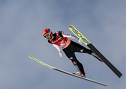 Markus Eisenbichler (GER) during Ski Flying Hill Men's Team Competition at Day 3 of FIS Ski Jumping World Cup Final 2017, on March 25, 2017 in Planica, Slovenia. Photo by Vid Ponikvar / Sportida