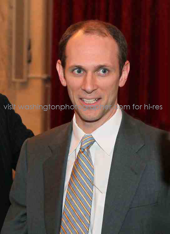 """5/6/11: Austan Goolsbee in DC. Copyright 2011 by Marty Katz. All rights reserved. Call for clearance before use. Credit: """"DC Photographer Marty Katz"""" with active link required to http://washingtonphotographer.com"""
