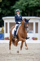 Balciunaite Urte, LTU, Valverdi<br /> World Championship Young Horses Verden 2021<br /> © Hippo Foto - Dirk Caremans<br /> 25/08/2021