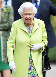 Members of The Royal Family attend the RHS Chelsea Flower Show at the Royal Hospital Chelsea, London, UK, on the 20th May 2019. 20 May 2019 Pictured: Queen, Queen Elizabeth. Photo credit: James Whatling / MEGA TheMegaAgency.com +1 888 505 6342