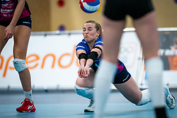 Lieke Hilgenberg of Eurosped in action during the league match Talentteam Papendal vs.  Eurosped on January 23, 2021 in Ede.