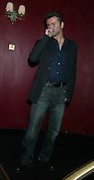 George Michael atlantic Bar London 05/05/2004