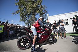 September 3, 2017 - Monza, Italy - Motorsports: FIA Formula One World Championship 2017, Grand Prix of Italy, ..#44 Lewis Hamilton (GBR, Mercedes AMG Petronas F1 Team) (Credit Image: © Hoch Zwei via ZUMA Wire)