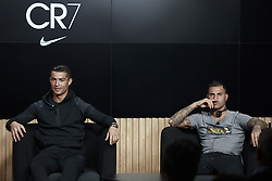 November 9, 2016 - Na - Oeiras, 09/11/2016 - took place this afternoon an event with the presence of Cristiano Ronaldo, Ricardo Quaresma, Rio Ferdinand, Fernando Santos, Aurélio Pereira and Miguel Passion in the City of Football in Oeiras. Cristiano Ronaldo, Ricardo Quaresma  (Credit Image: © Atlantico Press via ZUMA Wire)