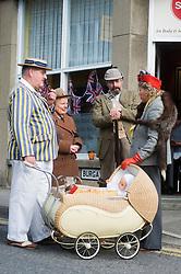 Civilian Reenactors taking part in the Pickering 1940s war weekend  October 2009 Image Copyright Paul David Drabble