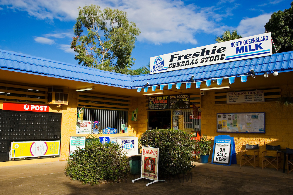 General store and Post Office near Cairns, North Queensland, Australia