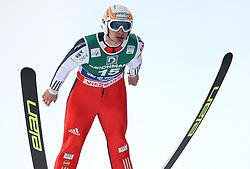 SKI NORDIC COMBINED WORLD CUP 2010..© Pierre Teyssot / Sportida.com..ORANIC Mitja of Slovenia during the stage of the nordic combined ski world cup in Val Di Fiemme, Trentino, Italy, on Saturday January the 9th 2010....