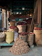 Marketstall selling local food produce in Srinigar, Kashmir, India