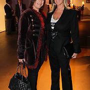 NLD/Amsterdam/20121013- LAF Fair 2012 VIP Night, Monique Olgers en Barbara Wagner