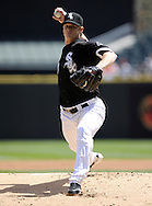CHICAGO - MAY 01:  Gavin Floyd #34 of the Chicago White Sox pitches against the Baltimore Orioles on May 01, 2011 at U.S. Cellular Field in Chicago, Illinois.  The Orioles defeated the White Sox 6-4.  (Photo by Ron Vesely)  Subject:   Gavin Floyd