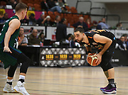 Taylor Hawks Ethan Rusbatch lines up a shot in the Sal's Pizza NBL Round 8 match, Hawkes Bay Hawks vs Auckland Rangers, Pettigrew Green Arena, Napier, Saturday, June 16, 2018. Copyright photo: Kerry Marshall / www.photosport.nz