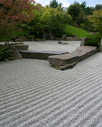 Japanese Garden  at Garten der Welt or Gardens of the World park in Marzahn in Berlin Germany