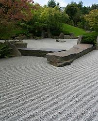 Japanese Garden  at Garten der Welt or Gardens of the World park in Marzahn in Berlin Germany