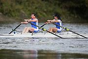 Crew: 67 - Warrick / Gourdon-Kanhukamwe - Barnes Bridge Ladies Rowing Club - W 2x Club <br /> <br /> Pairs Head 2020