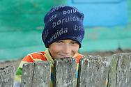 Young boy, Letea, Danube delta rewilding area, Romania