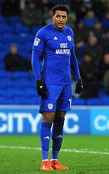 Nathaniel Mendez-Laing of Cardiff City - Mandatory by-line: Nizaam Jones/JMP - 29/12/2017 -  FOOTBALL - Cardiff City Stadium - Cardiff, Wales -  Cardiff City v Preston North End - Sky Bet Championship