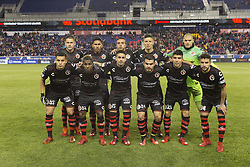 March 13, 2018 - Harrison, New Jersey, United States - Mexican team Club Tijuana poses before Scotiabank Concacaf Champions League quarterfinal second leg against New York Red Bulls at Red Bull Arena Red Bulls won 3 - 1  (Credit Image: © Lev Radin/Pacific Press via ZUMA Wire)