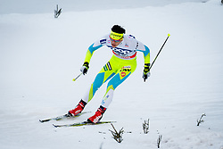 Simenc Miha (SLO) during Man 1.2 km Free Sprint Qualification race at FIS Cross<br /> Country World Cup Planica 2016, on January 16, 2016 at Planica,Slovenia. Photo by Ziga Zupan / Sportida