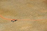 Aerial image<br /> farm land,  Salamanca Region, Castilla y León, Spain