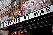 The Winston Churchill's Britain at War Experience is a themed museum located in central London, which recalls the London Blitz. Amongst the exhibits is a recreation of a London Underground air raid shelter.