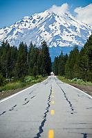 Mount Shasta, California - Viewed from highway 89
