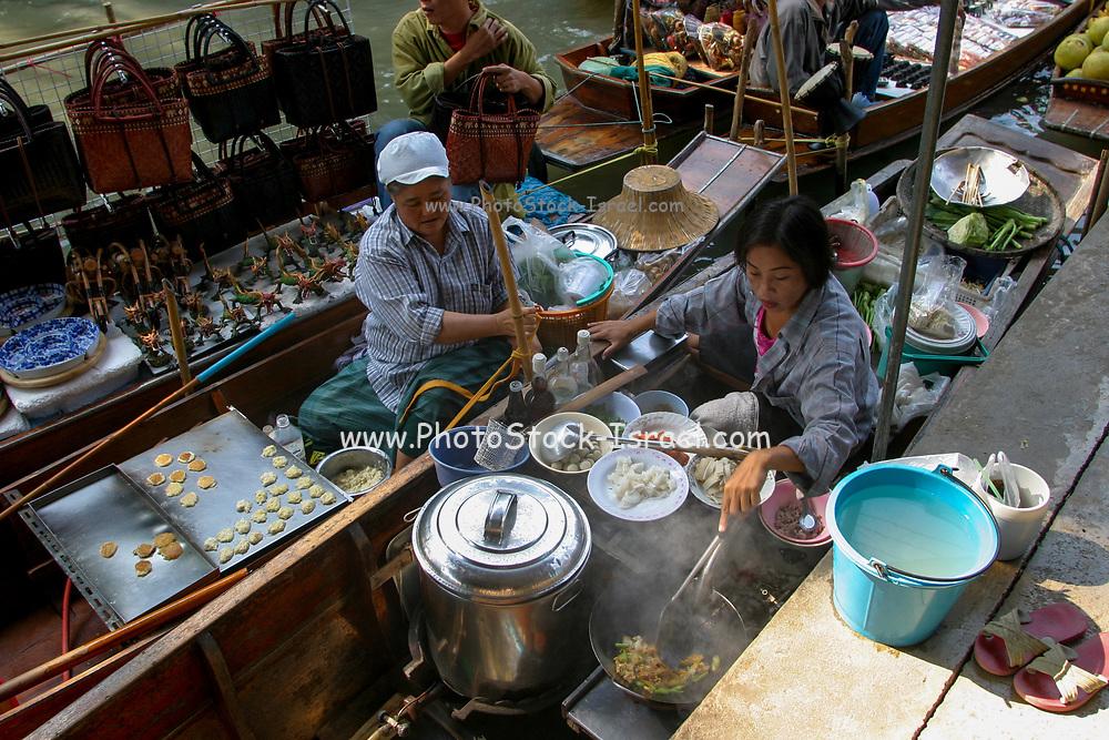 Floating market, Phra Nakhon Si Ayutthaya District, Thailand